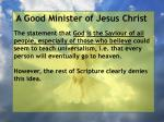 a good minister of jesus christ36