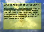 a good minister of jesus christ4