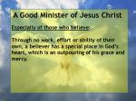 a good minister of jesus christ46