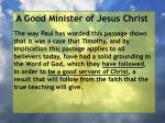a good minister of jesus christ5