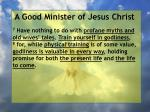 a good minister of jesus christ6