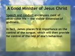a good minister of jesus christ62