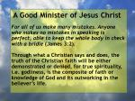 a good minister of jesus christ64