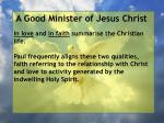 a good minister of jesus christ65