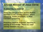 a good minister of jesus christ81