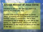 a good minister of jesus christ92