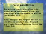 false asceticism14