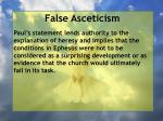 false asceticism18