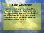 false asceticism21
