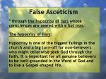 false asceticism25