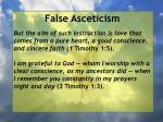 false asceticism33