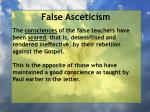 false asceticism36