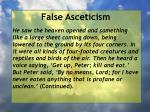 false asceticism41
