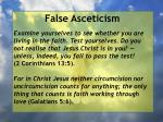 false asceticism49