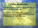 false asceticism50