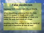 false asceticism6