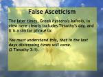 false asceticism7