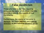 false asceticism9