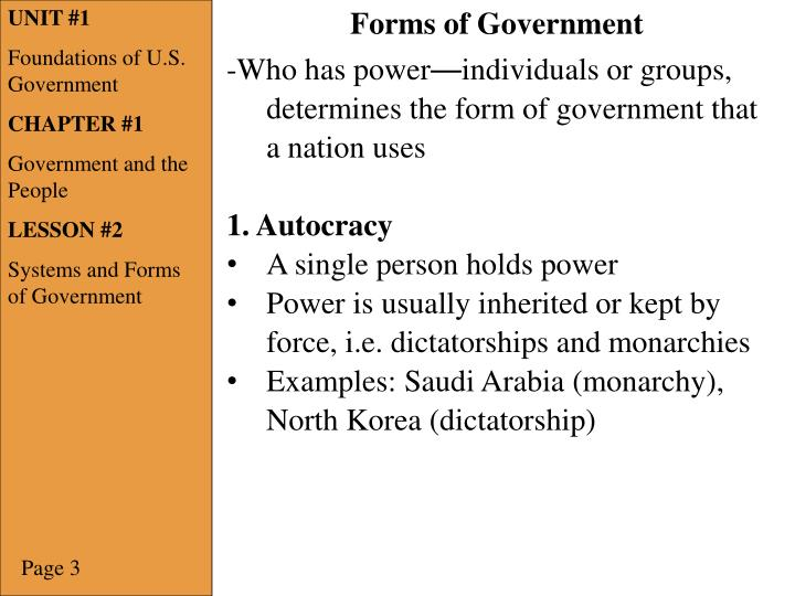 Ppt Unit 1 Foundations Of Us Government Chapter 1 Government