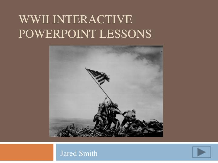 wwii interactive powerpoint lessons n.