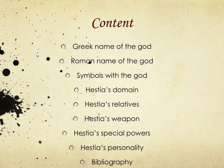 Ppt Hestia Powerpoint Presentation Id1979349