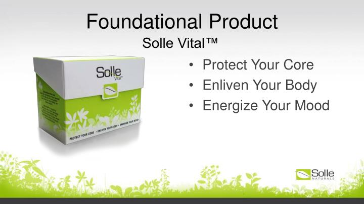 Foundational Product