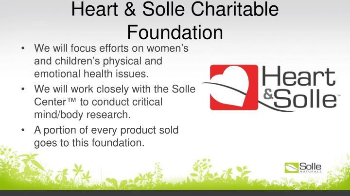 Heart & Solle Charitable Foundation