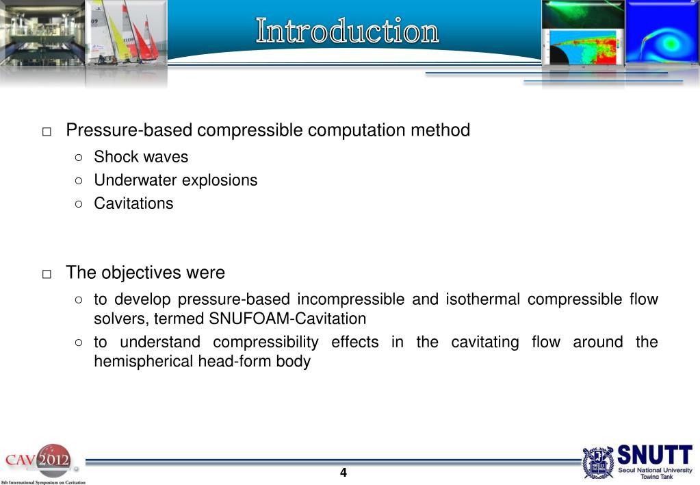 Compressible Flow Openfoam
