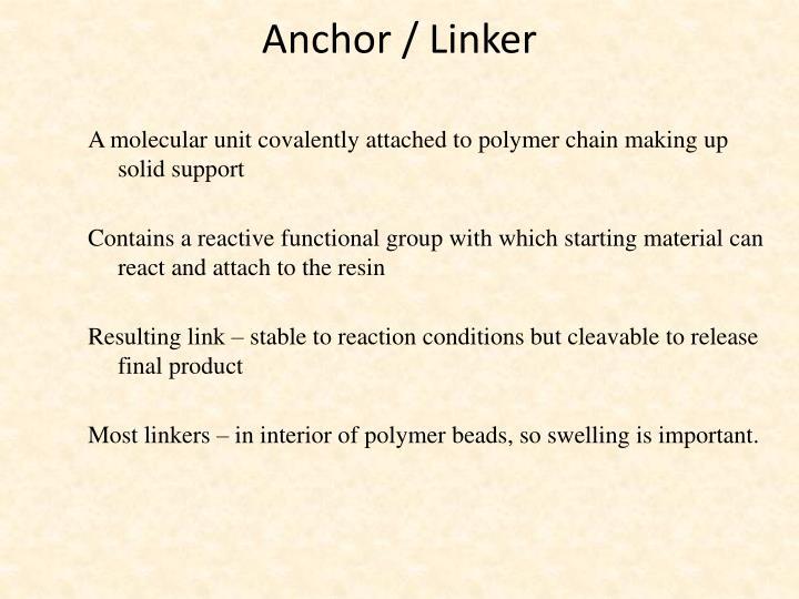 Anchor / Linker