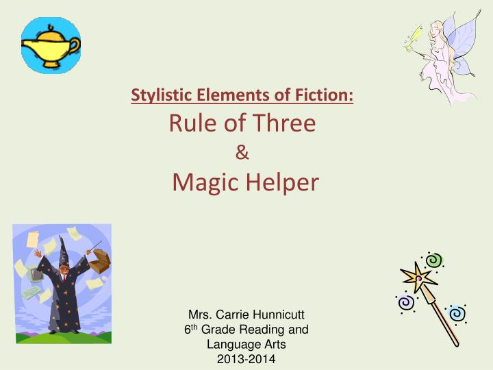 Impact of elements of fiction on each other ppt by miss rowles | tpt.