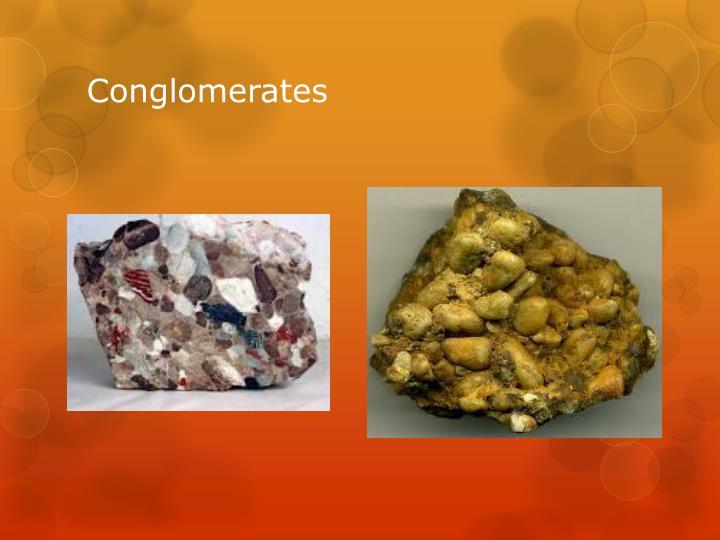 Conglomerates