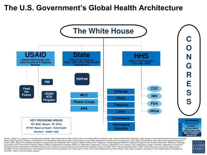 the u s government s global health architecture n.