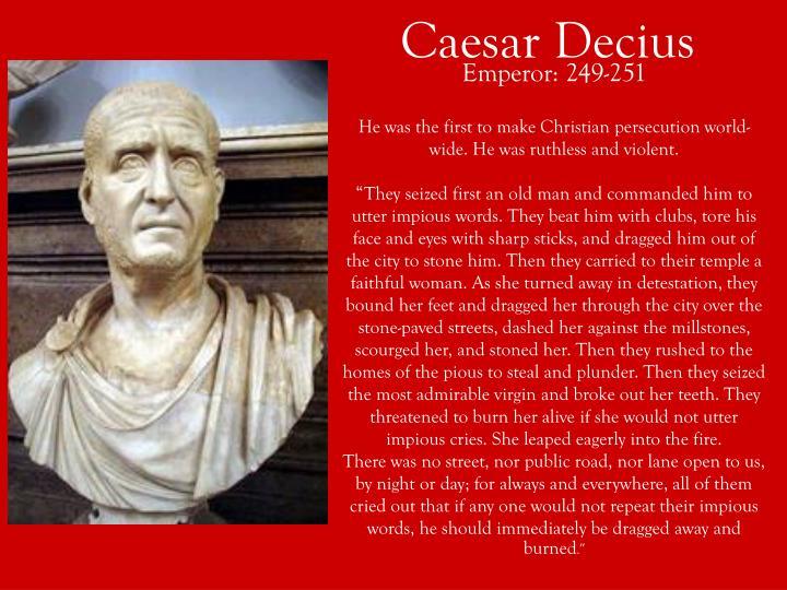 Caesar Decius