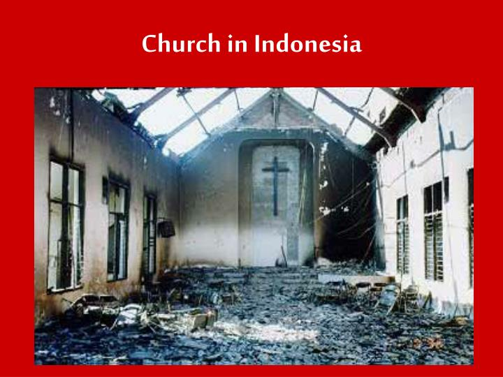 Church in Indonesia