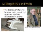 d morgenthau and waltz1