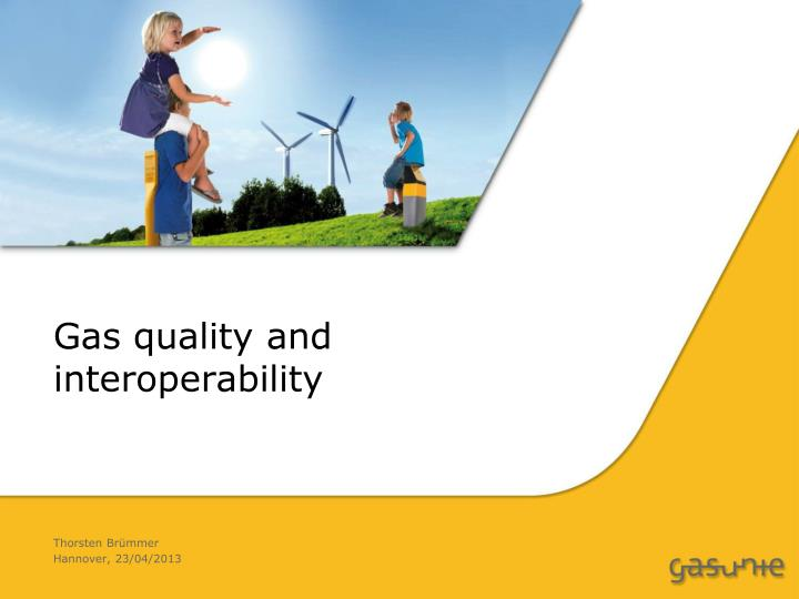gas quality and interoperability n.