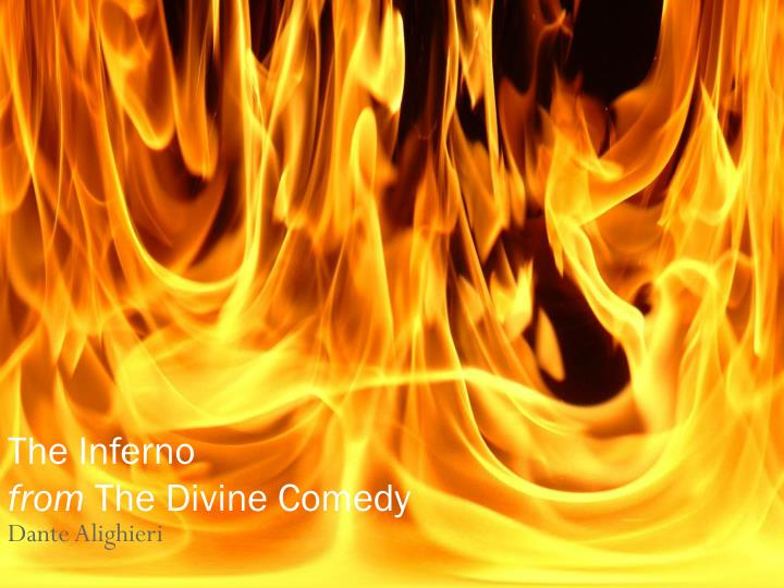 the inferno from the divine comedy n.