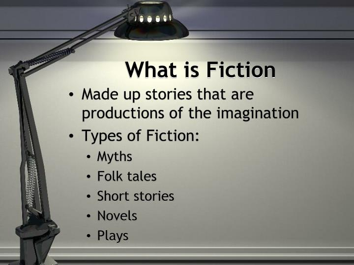 What is fiction