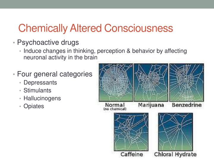 Chemically Altered Consciousness