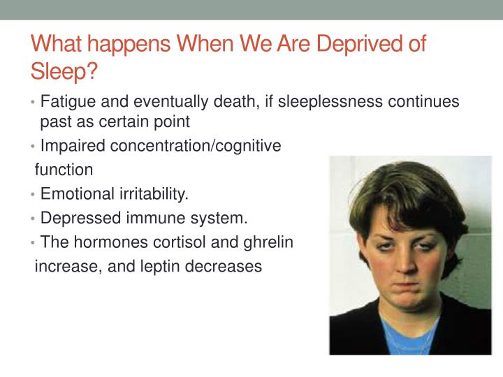 What happens When We Are Deprived of Sleep?