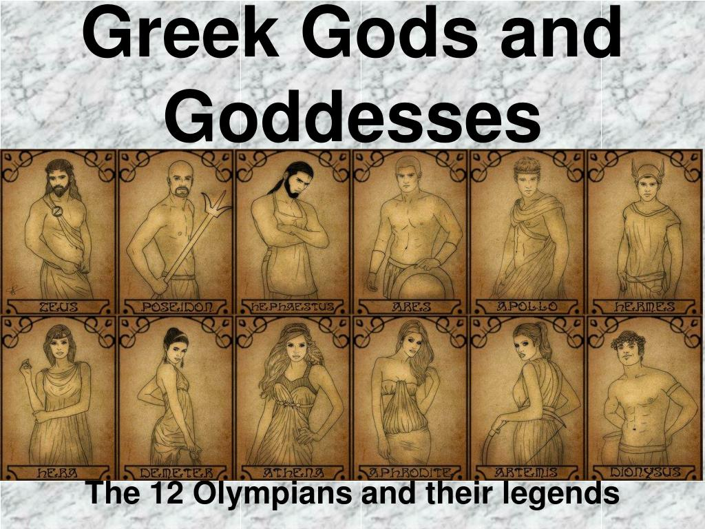 PPT - Greek Gods and Goddesses PowerPoint Presentation ...