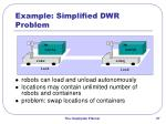example simplified dwr problem