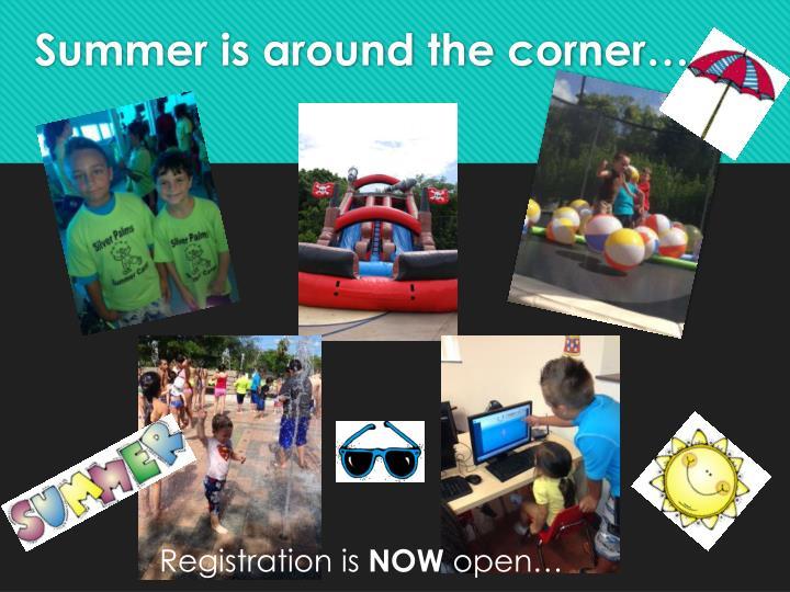 Summer is around the corner…
