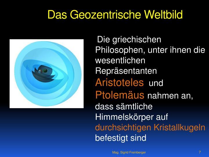 Das Geozentrische Weltbild