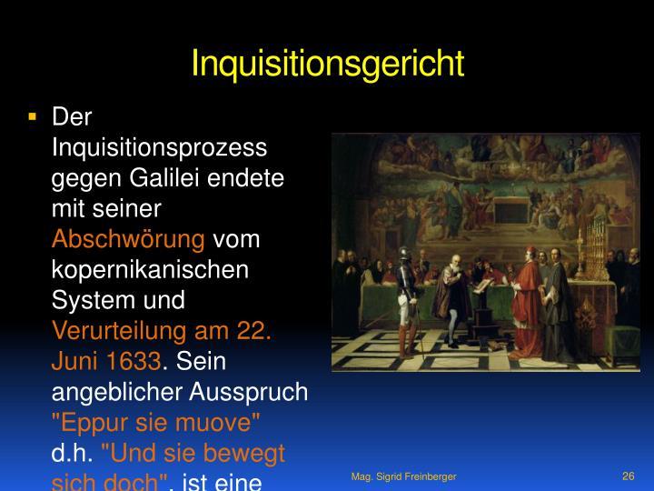 Inquisitionsgericht
