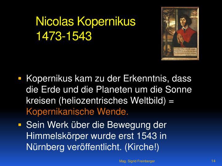 Nicolas Kopernikus