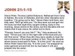 john 21 1 15