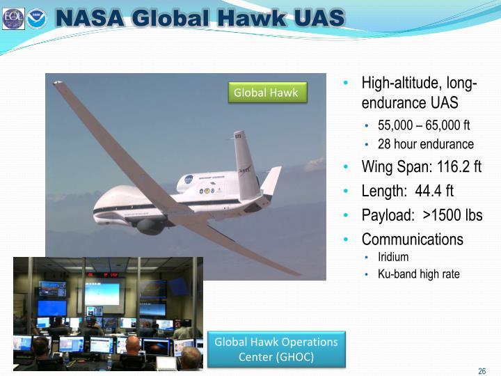 NASA Global Hawk UAS