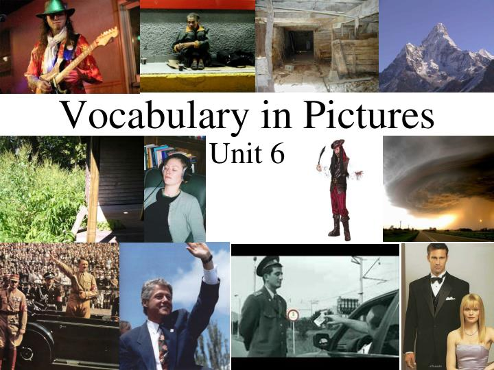 vocabulary in pictures n.