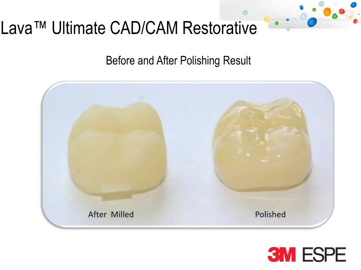 Before and After Polishing Result